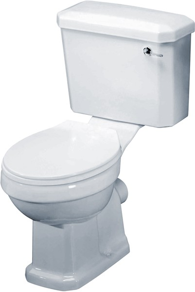 Carlton Traditional Toilet With Cistern & Seat. additional image