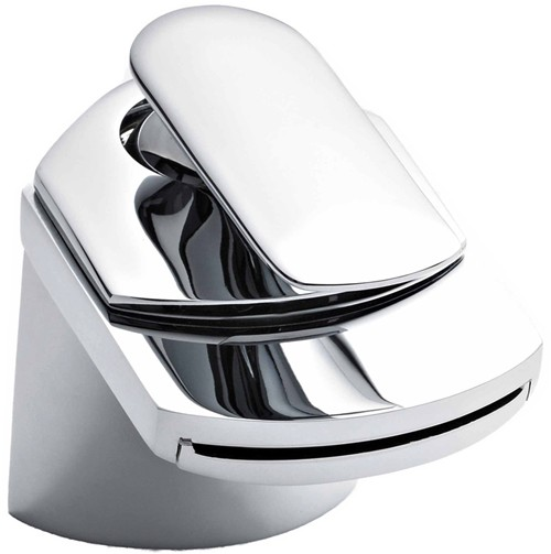 Waterfall Basin Mixer Tap (Chrome). additional image