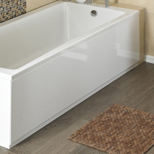 1500mm Side Bath Panel (White, MDF). additional image