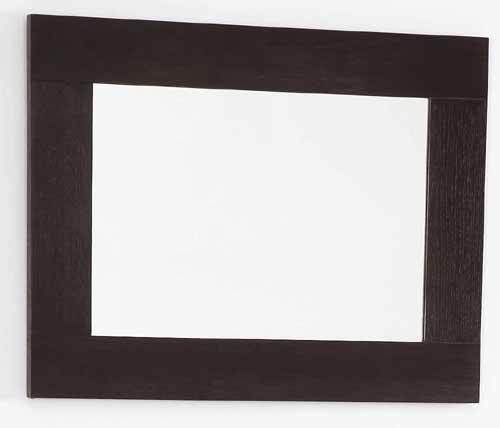 Wenge bathroom mirror size 500x450mm davinci q 7079awe for Wenge bathroom mirror