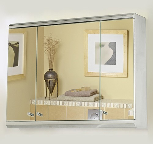 door mirror bathroom cabinet 800x550x130mm roma cabinets roma cab7