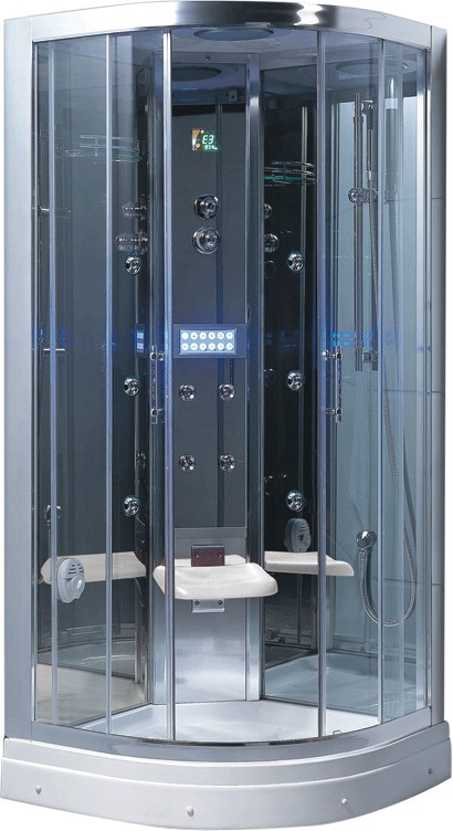 900x900 Steam Massage Shower Enclosure Mirror Panels