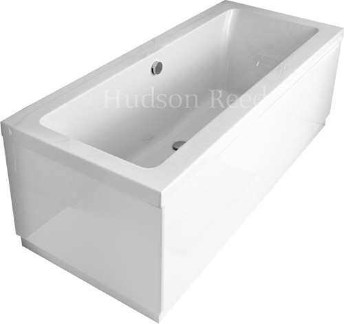 Double Ended Acrylic Bath & White Panels. 1700x700mm additional image