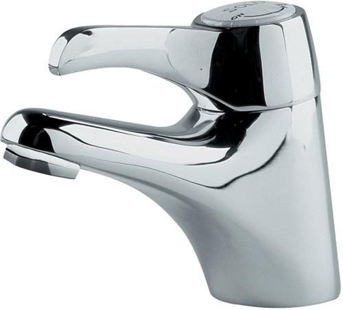 Spray Basin Mixer Tap (Chrome). additional image