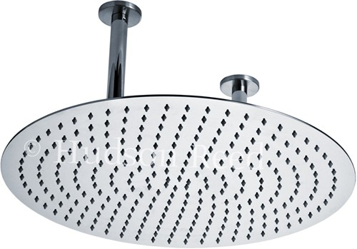 Round Shower Head (Stainless Steel). 500mm. additional image