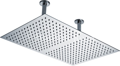 Rectangular Shower Head (Stainless Steel). 600x400mm. additional image