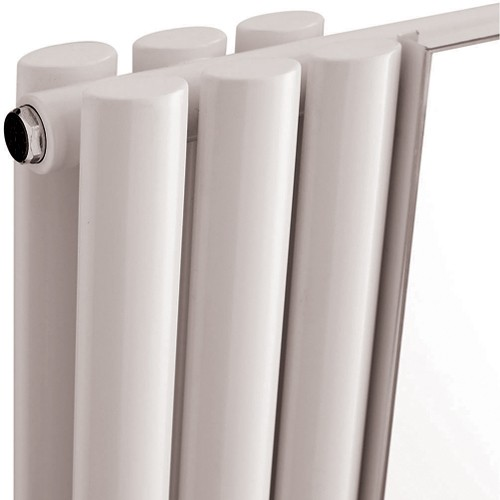 Revive Mirror Radiator. 5368 BTU. 499x1800mm (White). additional image