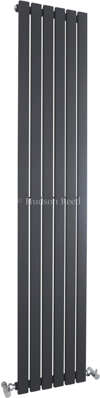 Sloane Vertical Radiator (Anthracite). 354x1800mm. additional image