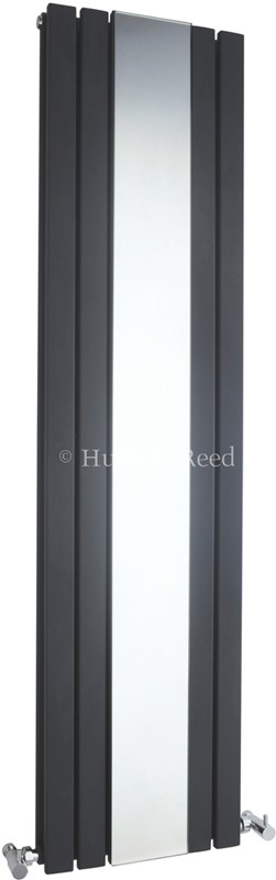 Sloane Mirror Radiator (Anthracite). 381x1500mm. additional image