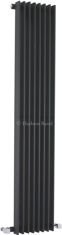 Fin Radiator (Anthracite). 304x1500mm. 3172 BTU. additional image