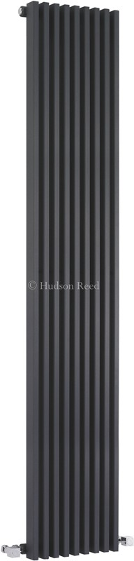 Parallel Designer Radiator (Anthracite). 342x1800mm. additional image