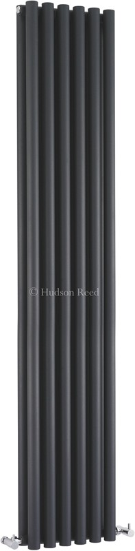 Savy Double Radiator (Anthracite). 354x1800mm. additional image