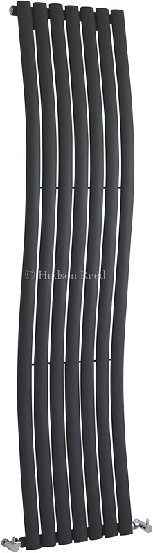 Revive Wave Radiator (Anthracite). 413x1785mm. additional image