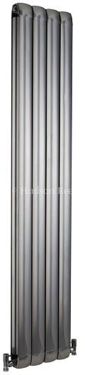 Nirvana Designer Radiator (Silver). 335x1800mm. additional image
