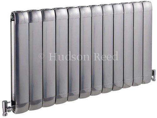 Nirvana Designer Radiator (Silver). 1015x600mm. additional image
