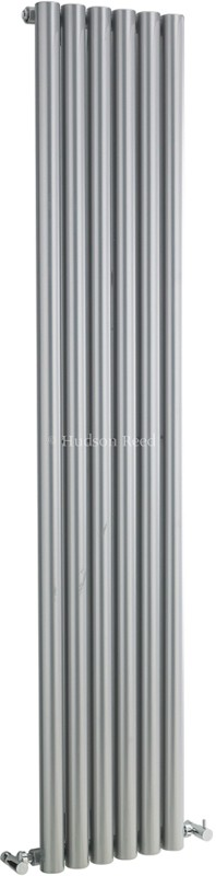 Savy Radiator (Silver). 354x1800mm. 3971 BTU. additional image