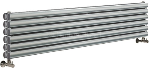 Revive Radiator (Silver). 1500x354mm. 4708 BTU. additional image