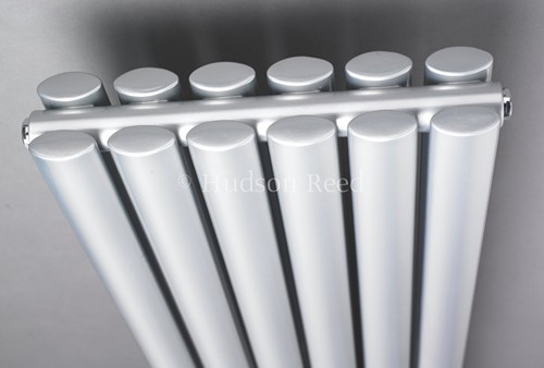 Revive Radiator (Silver). 354x1800mm. 5786 BTU. additional image