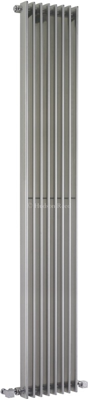 Fin Radiator (Silver). 304x1800mm. 5186 BTU. additional image