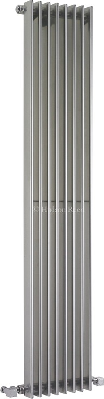 Fin Radiator (Silver). 304x1500mm. 4367 BTU. additional image