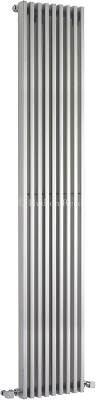 Parallel Designer Radiator (Silver). 342x1800mm. additional image