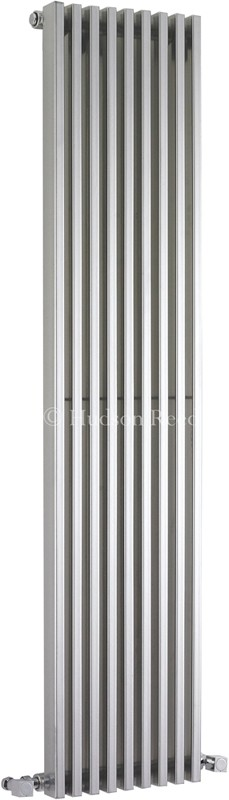 Parallel Designer Radiator (Silver). 342x1500mm. additional image