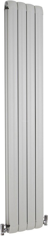Nirvana Designer Radiator (White). 335x1800mm. additional image