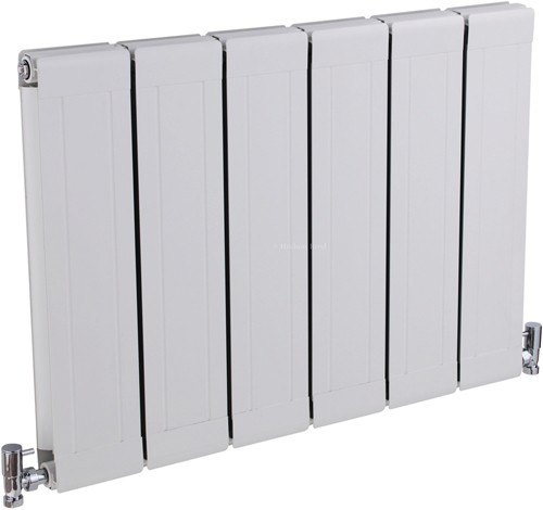 Glee Designer Radiator (White). 832x600mm. additional image