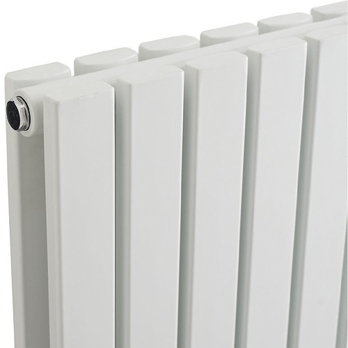 Sloane Radiator (White). 354x1800mm. 7313 BTU. additional image