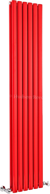 Revive Red Radiator (Red). 354x1800mm. 3357 BTU. additional image