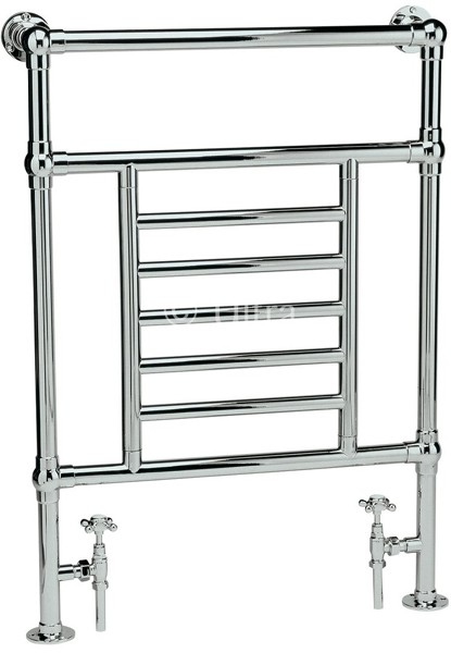 Dorchester Heated Towel Rail (Chrome). 675x965mm. additional image
