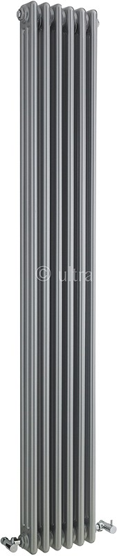 Triple Column Radiator (Silver). 291x1800mm. additional image
