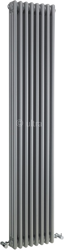 Triple Column Radiator (Silver). 381x1800mm. additional image