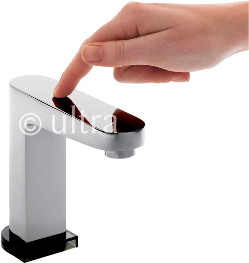 Touch Sensor Basin Tap (Battery Powered). additional image