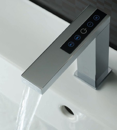 Digital Basin Tap With Concealed Control Unit (Deck Mounted). additional image
