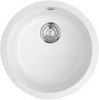 Click for Astracast Sink Lincoln round undermount ceramic kitchen bowl.