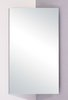 Click for Hudson Reed Arklow stainless steel corner mirror bathroom cabinet.