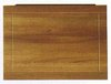Click for daVinci 700mm modern bath end panel in cherry finish.