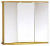 Click for daVinci Birch Gallassia 3 door bathroom cabinet, lights & shaver socket.