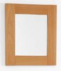 Click for daVinci Beech bathroom mirror. Size 400x450mm.