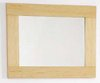 Click for daVinci Beech bathroom mirror. Size 500x450mm.