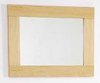 Click for daVinci Maple bathroom mirror. Size 500x450mm.