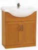 Click for daVinci 750mm Beech Vanity Unit with one piece ceramic basin.