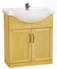 Click for daVinci 750mm Maple Vanity Unit with one piece ceramic basin.