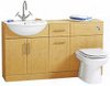 Click for daVinci Deluxe birch bathroom furniture suite.  1400x810x300mm.