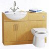 Click for daVinci Birch bathroom furniture suite.  1100x810x300mm.