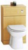 Click for daVinci Monte Carlo complete back to wall toilet set in birch.