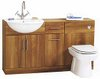 Click for daVinci Deluxe cherry bathroom furniture suite.  1400x810x300mm.