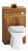 Click for daVinci Monte Carlo complete back to wall toilet set in cherry.