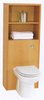 Click for daVinci Monte Carlo complete back to wall toilet set with shelves in beech.